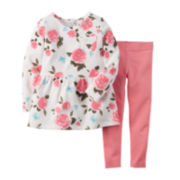 Carter's® Floral Tunic and Leggings - Toddler Girls 2t-5t