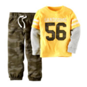 Carter's® Long-Sleeve Tee and Camo Pants - Toddler Boys 2t-5t