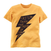 Carter's® Lightning Graphic Tee - Toddler Boys 2t-5t