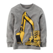 Carter's® Construction Graphic Sweatshirt - Toddler Boys 2t-5t