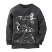 Carter's® Spaceship Sweatshirt - Toddler Boys 2t-5t