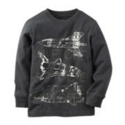 Carter's® Spaceship Sweatshirt - Toddler Boys 2t-5t