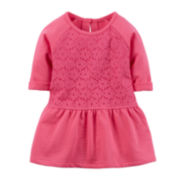 Carter's® Lace-Peplum Top - Preschool Girls 4-7