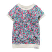 Carter's® Floral-Print French Terry Tunic - Preschool Girls 4-6x