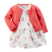 Carter's® Floral Dress and Cardigan - Baby Girls newborn-24m
