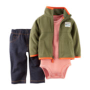 Carter's® Jacket, Bodysuit and Jeans - Baby Boys newborn-24m