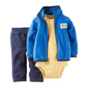 Carter's® Jacket, Bodysuit and Pants - Baby Boys newborn-24m