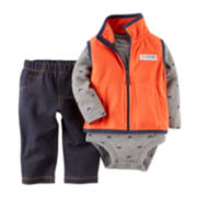 Carter's® Vest, Bodysuit and Jeans - Baby Boys newborn-24m