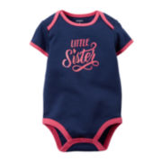 Carter's® Little Sister Bodysuit - Baby Girls newborn-24m
