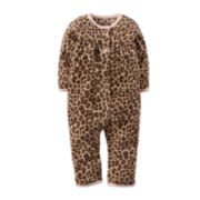 Carter's® Animal-Print Jumpsuit - Baby Girls newborn-24m
