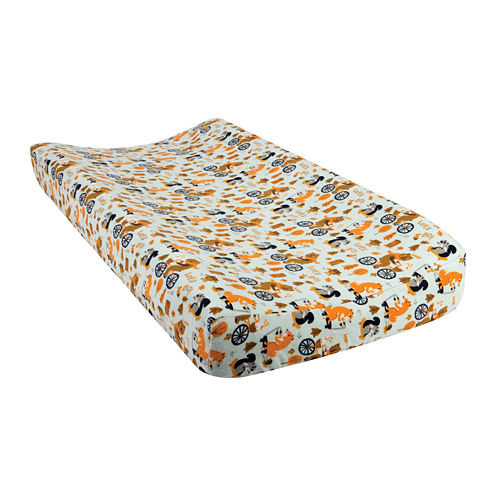 Trend Lab® Let's Go Flannel Changing Pad Cover