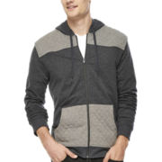 Hollywood Griffin Quilted Full-Zip Hoodie