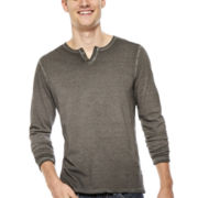 i Jeans by Buffalo Championo Long-Sleeve Henley Tee