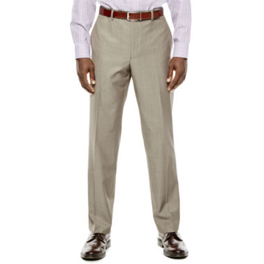 jcpenney.com | Collection by Michael Strahan Taupe Flat-Front Suit Pants - Classic Fit