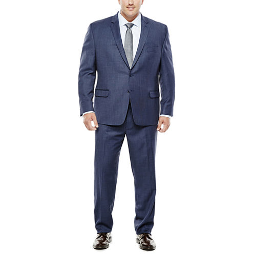 Collection by Michael Strahan Navy Birdseye Suit Separates - Big & Tall