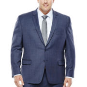 Collection by Michael Strahan Navy Birdseye Suit Jacket - Big & Tall