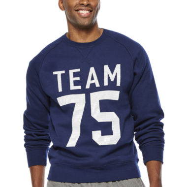 jcpenney.com | Xersion™ Graphic Fleece Crewneck Sweatshirt