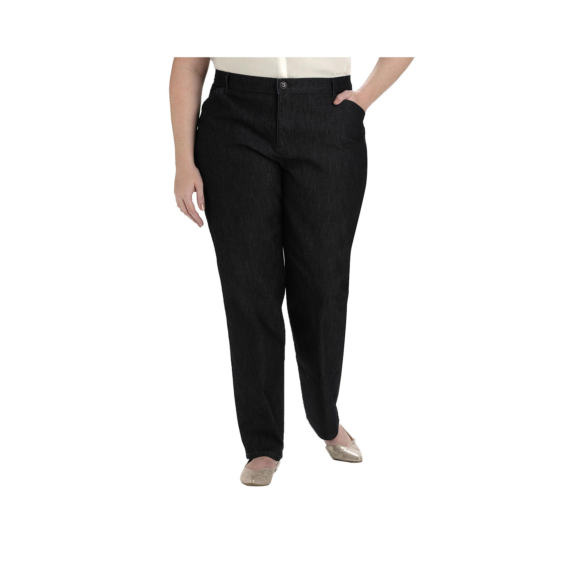 plain front twill pants