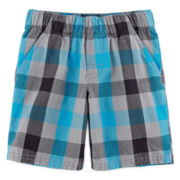 Okie Dokie® Pull-On Shorts - Toddler Boys 2t-5t