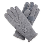 Isotoner® SmarTouch Knit Palm Gloves
