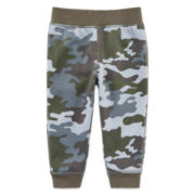 Okie Dokie® Fleece Pants - Baby Boys newborn-24m