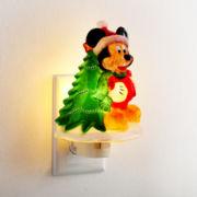 North Pole Trading Co. Mickey Nightlight