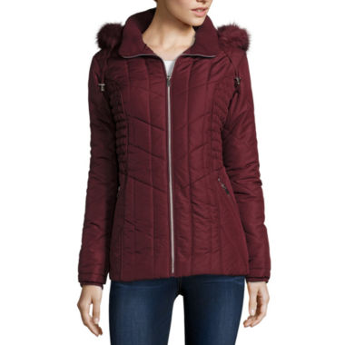 jcpenney.com | Details Popcorn Panel Hooded Puffer Jacket