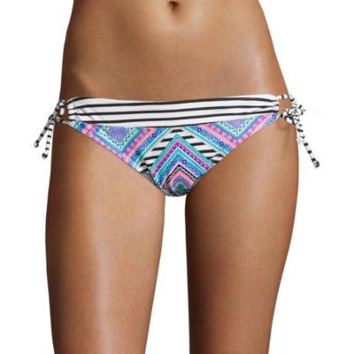 Arizona Mix & Match Side-Tie Hipster Swim Bottoms - Juniors