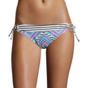 Arizona Diamond Fantasy Side-Tie Hipster Swim Bottoms