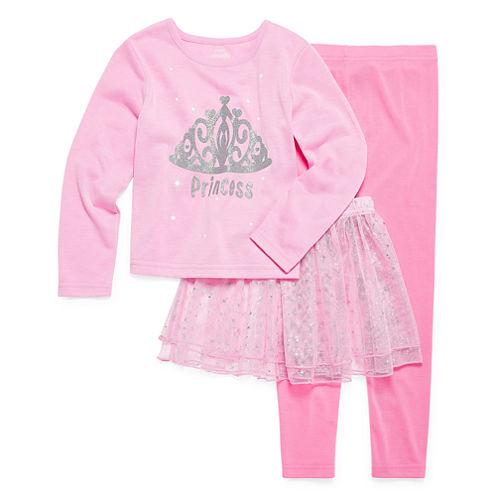 Princess Tutu 3-pc. Pajama Set - Preschool Girls 4-6X