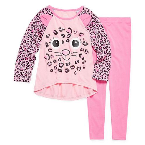 Critter 2-pc. Pajama Set - Preschool Girls 4-6X