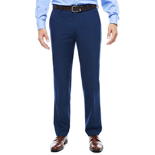 Men's JF J. Ferrar® Blue Stretch Flat-Front Slim Fit Suit Pants
