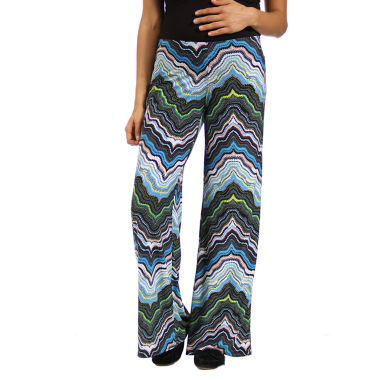 jcpenney.com | 24/7 Comfort Apparel Solid Palazzo Pants Maternity