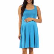 24/7 Comfort Apparel A-Line Dress