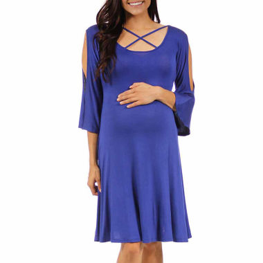 jcpenney.com | 24/7 Comfort Apparel Sheath Dress-Maternity