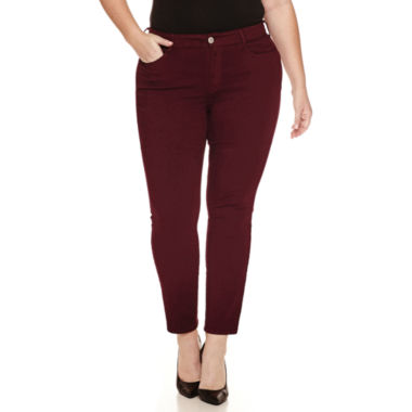jcpenney.com | Arizona High-Rise Twill Jeggings - Juniors Plus