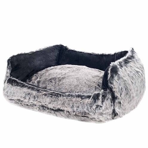 Petmaker Faux Fur Dog Bed