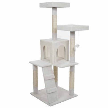 jcpenney.com | Petmaker 4 ft. Penthouse Sleep and Play Cat Tree