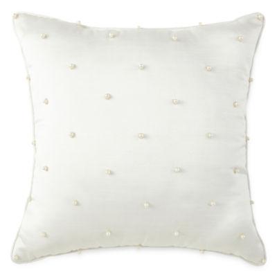 "Liz Claiborne 18"" Square Decorative Pillow"