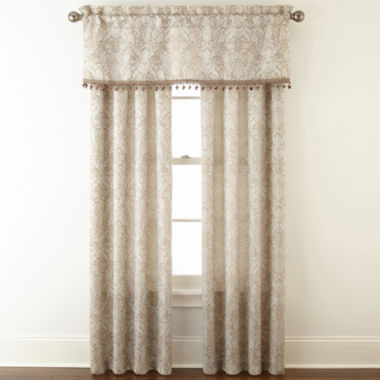 jcpenney.com | Mercer 3-Pack Jacquard Rod-Pocket Curtain Panels
