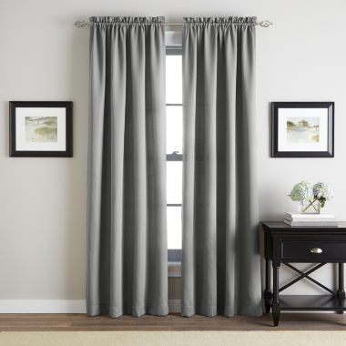jcpenney.com | Addison Twill Rod-Pocket Curtain Panel