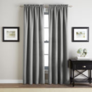 Twill Rod Pocket Curtain Panel