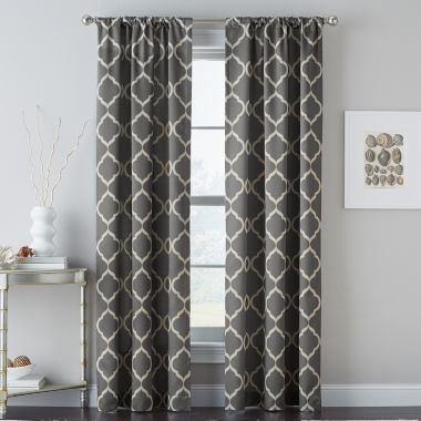 jcpenney.com | Casbah Trellis Rod-Pocket Curtain Panel