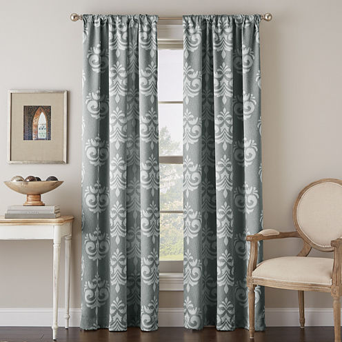 Chantel Rod-Pocket Curtain Panel