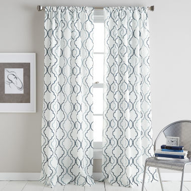 jcpenney.com | Coco Rod-Pocket Curtain Panel