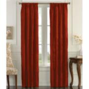 Taffeta Rod Pocket Curtain Panel