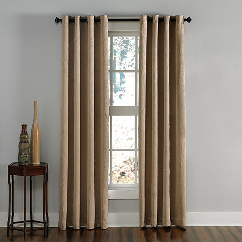 Lenox Grommet-Top Curtain Panel