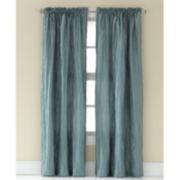 Taffeta Rod-Pocket Curtain Panel