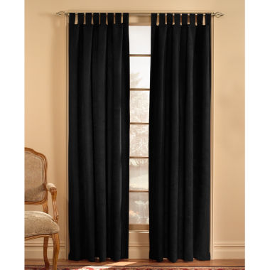 jcpenney.com | Microsuede Tab-Top Curtain Panel