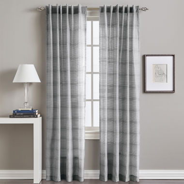 jcpenney.com | Back-Tab Sheer Curtain Panel